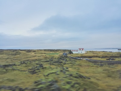 House in the lava fields