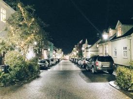 Nighttime in Reykjavík
